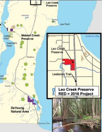 Leo Creek Conservancy Map